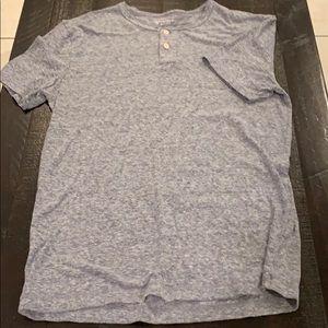 Medium Arizona Jean Short Sleeve T-Shirt w/Buttons